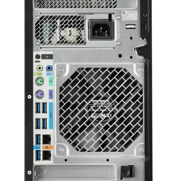 Рабочая станция HP Z4 G4 back panel